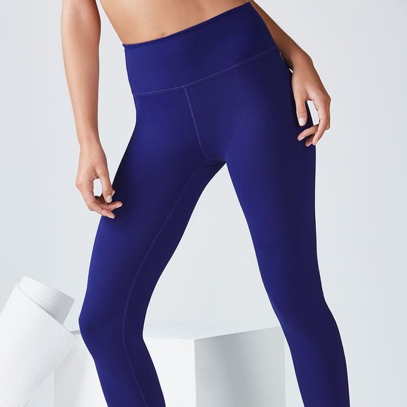 Fabletics high waisted solid power hold leggings